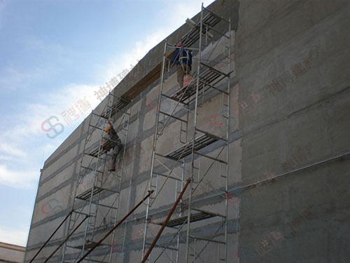 钢骨架轻型屋面板工艺
