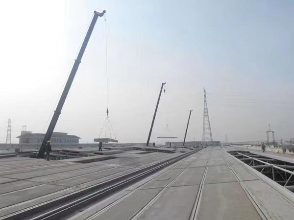 输煤栈桥板制作